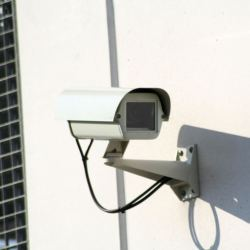 a typical cctv camera